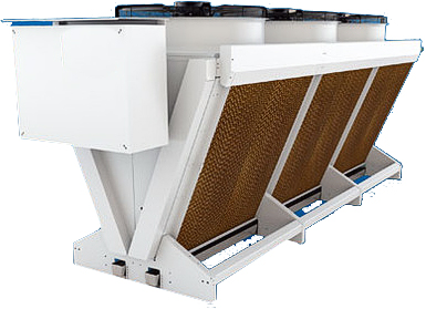 remote dry coolers, condensers, process cooling systems, heat transfer, heat recovery, process cooling HVAC systems, chillers